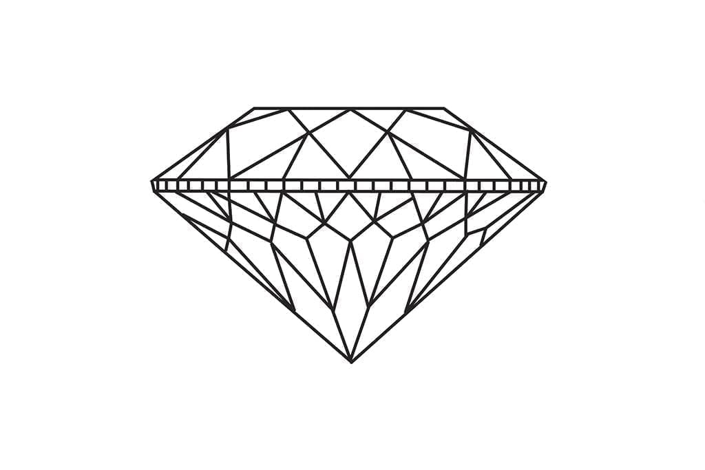 Do more facets on a diamond produce better performance?