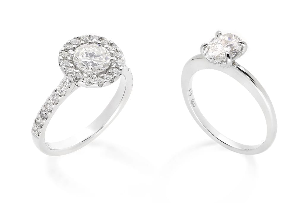 Solitaire Diamond Ring or Diamond Cluster?